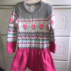 Gymboree sweater dress size 5/6